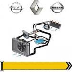 ✔ Охлаждение - дв. 2,5L 2001-06 для Renault, Opel, Nissan
