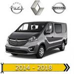 ✔ авто 2014 + року випуску для Renault, Opel, Nissan