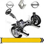 ✔ Привід - дв. 1,9L 2001-06 для Renault, Opel, Nissan