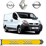 ✔ авто 2001-2006 года выпуска для Renault, Opel, Nissan