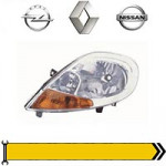 ✔ Скло та їх очищення - дв. 1,9L 2001-06 для Renault, Opel, Nissan