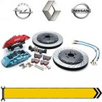 ✔ Тормозная система - дв. 1,9L 2001-06 для Renault, Opel, Nissan