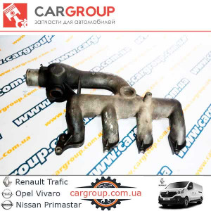 Впускний колектор 1.9 Renault Group 8200145097