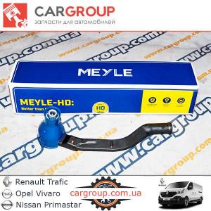 Наконечник рульової тяги R 1.6 1.9 2.0 2.5 Meyle 16-16020008HD