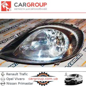Фара головного світла L Renault Group 7700311371