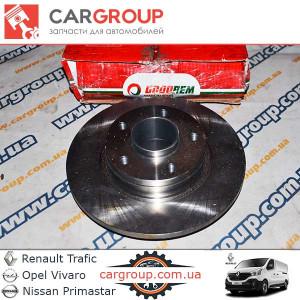 Тормозной диск задний Goodrem RM3026