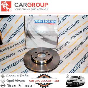 Тормозной диск передний Transporter 040003