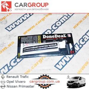 Герметик прокладочный термостойкий чёрный DoneDeal 85 гр DD6712