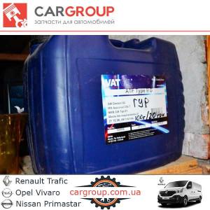 Гидротрансмиссионное масло VatOil ATF Type IID - 1л