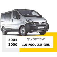 Renault, Opel, Nissan 2001-2006 року випуску