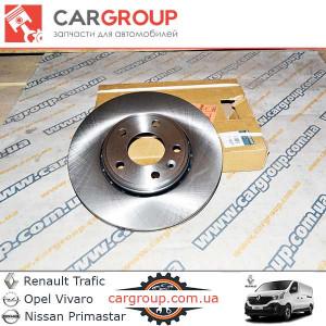 Гальмівний диск передній Renault Group 7711130077