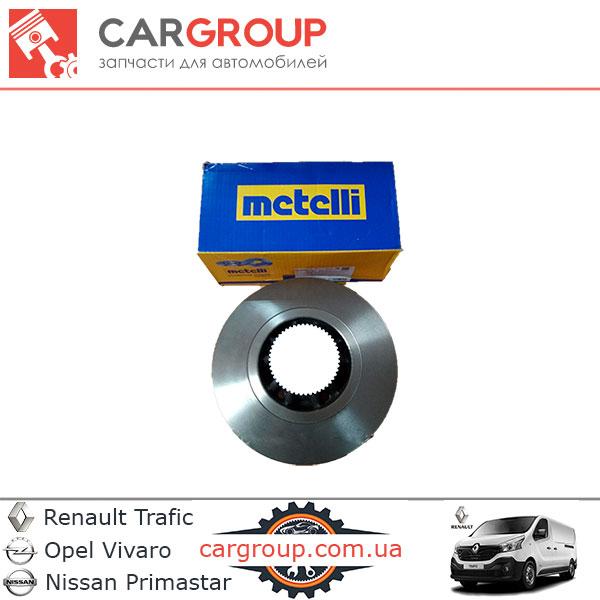 Гальмівний диск задній Metelli  з підшипником та кільцем ABS 23-0844