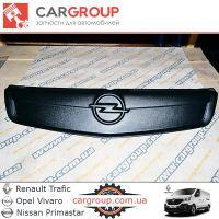 Зимняя верхняя накладка на решётку Opel Vivaro zim126