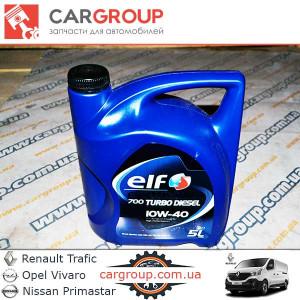 Масло моторное  Elf Evolution 700 Turbo Diesel 10W-40 5л